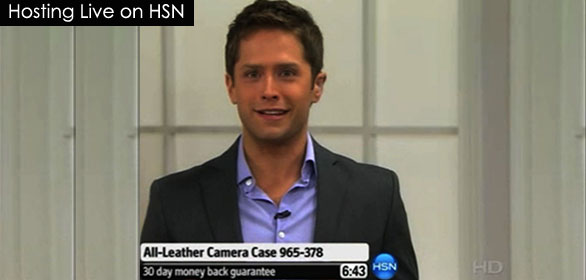 Hosting Live on HSN
